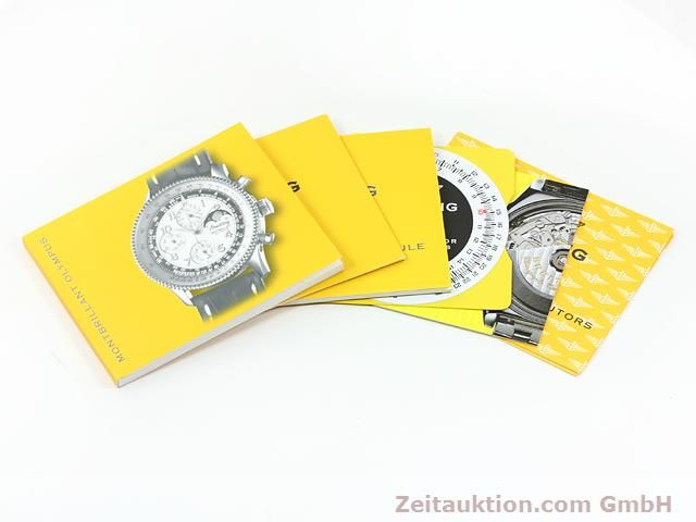 Used luxury watch Breitling Montbrillant chronograph steel automatic Kal. ETA 2892A2 Ref. A19350  | 140774 13