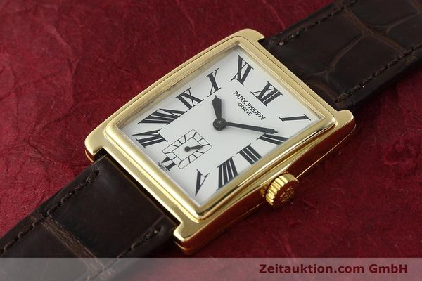 Used luxury watch Patek Philippe Gondolo 18 ct gold manual winding Kal. 215 Ref. 5010  | 140783 01