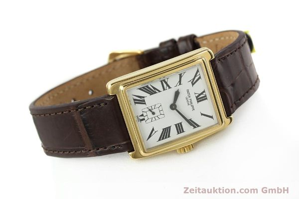 Used luxury watch Patek Philippe Gondolo 18 ct gold manual winding Kal. 215 Ref. 5010  | 140783 03