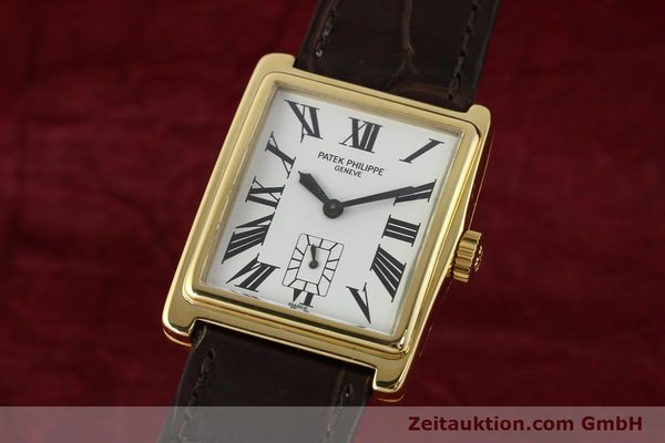 Used luxury watch Patek Philippe Gondolo 18 ct gold manual winding Kal. 215 Ref. 5010  | 140783 04