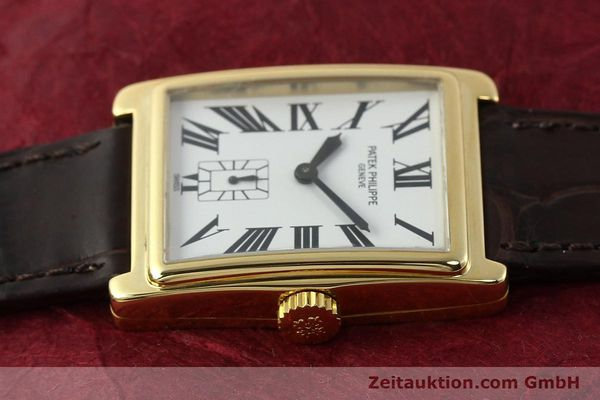 Used luxury watch Patek Philippe Gondolo 18 ct gold manual winding Kal. 215 Ref. 5010  | 140783 05