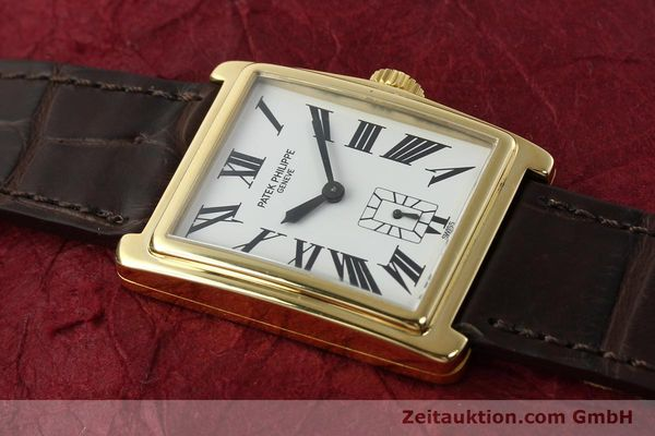 Used luxury watch Patek Philippe Gondolo 18 ct gold manual winding Kal. 215 Ref. 5010  | 140783 16