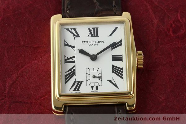 Used luxury watch Patek Philippe Gondolo 18 ct gold manual winding Kal. 215 Ref. 5010  | 140783 17