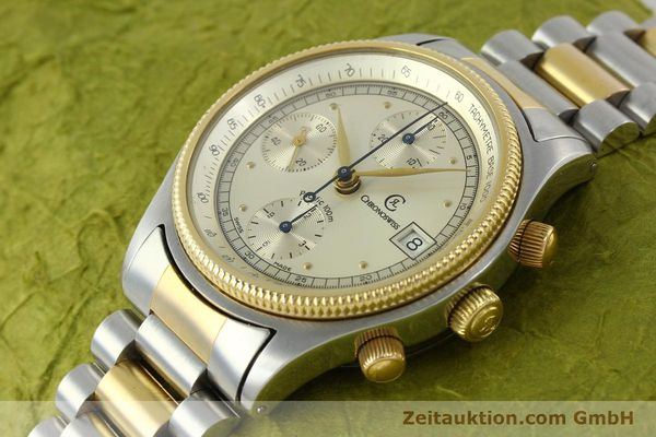 Used luxury watch Chronoswiss Pacific steel / gold automatic Kal. VAL 7750 7514  | 140784 01