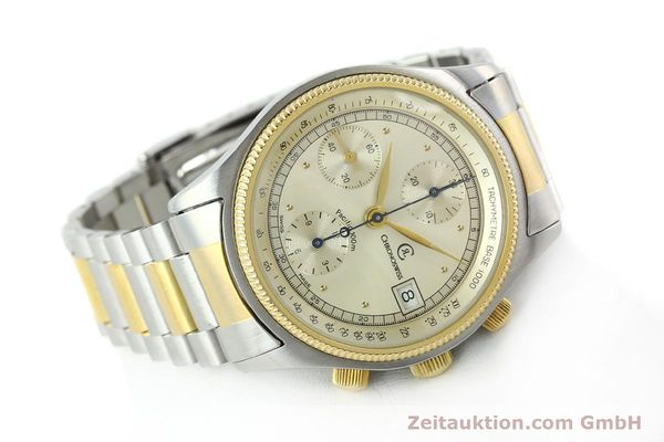Used luxury watch Chronoswiss Pacific steel / gold automatic Kal. VAL 7750 7514  | 140784 03