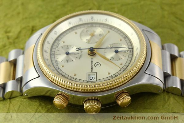 Used luxury watch Chronoswiss Pacific steel / gold automatic Kal. VAL 7750 7514  | 140784 05