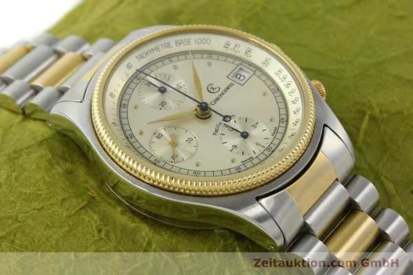 Used luxury watch Chronoswiss Pacific steel / gold automatic Kal. VAL 7750 7514  | 140784 13