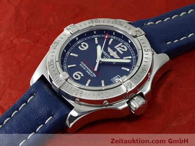 Used luxury watch Breitling Colt steel quartz Kal. B77 (ETA 955452) Ref. A77380  | 140786 01