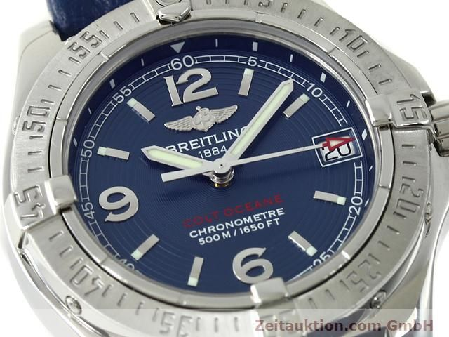 Used luxury watch Breitling Colt steel quartz Kal. B77 (ETA 955452) Ref. A77380  | 140786 02