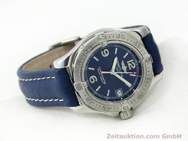 Used luxury watch Breitling Colt steel quartz Kal. B77 (ETA 955452) Ref. A77380  | 140786 03