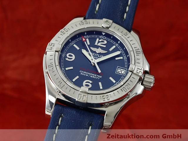Used luxury watch Breitling Colt steel quartz Kal. B77 (ETA 955452) Ref. A77380  | 140786 04