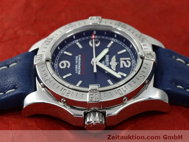 Used luxury watch Breitling Colt steel quartz Kal. B77 (ETA 955452) Ref. A77380  | 140786 05
