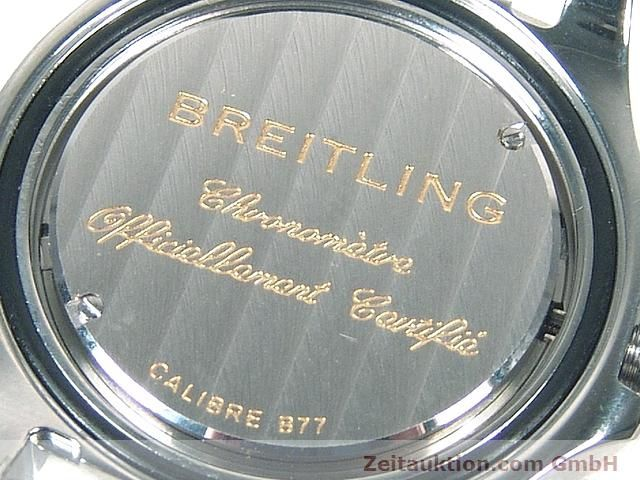 Used luxury watch Breitling Colt steel quartz Kal. B77 (ETA 955452) Ref. A77380  | 140786 09