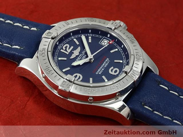 Used luxury watch Breitling Colt steel quartz Kal. B77 (ETA 955452) Ref. A77380  | 140786 10
