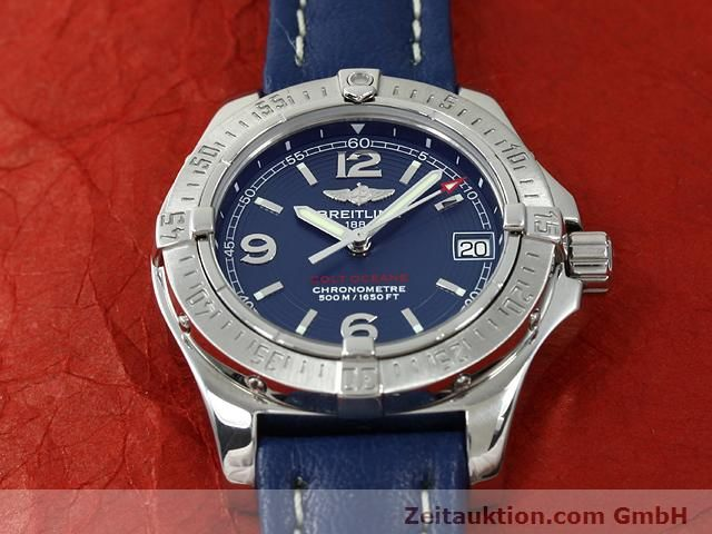 Used luxury watch Breitling Colt steel quartz Kal. B77 (ETA 955452) Ref. A77380  | 140786 11