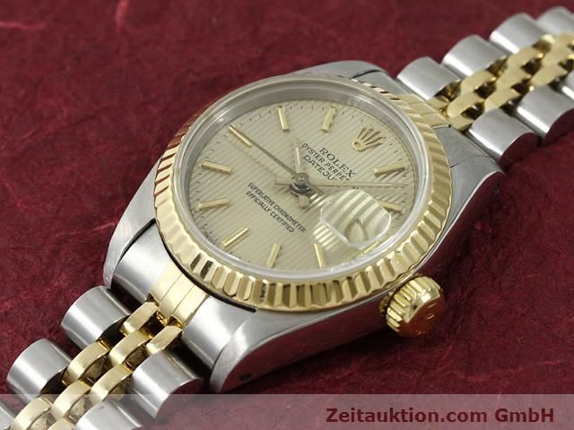 Used luxury watch Rolex Lady Datejust steel / gold automatic Kal. 2135 Ref. 69173  | 140787 01