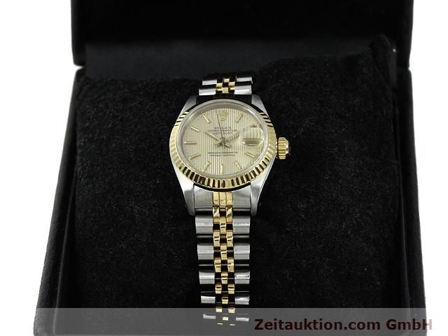 Used luxury watch Rolex Lady Datejust steel / gold automatic Kal. 2135 Ref. 69173  | 140787 07