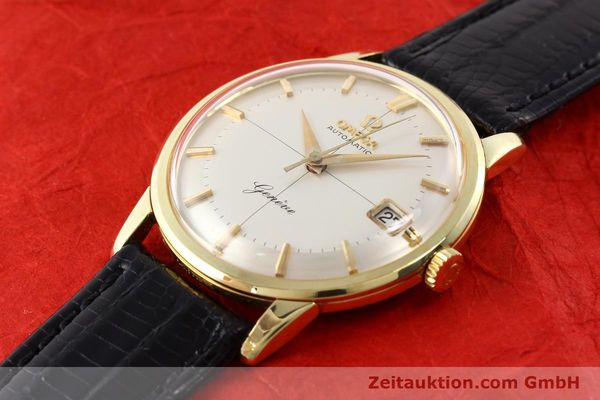 Used luxury watch Omega * gold-plated automatic Kal. 562 Ref. 14703  | 140788 01