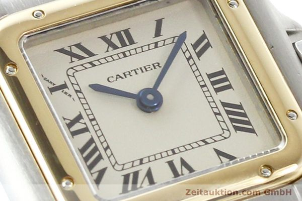 Used luxury watch Cartier Panthere steel / gold quartz  | 140789 02
