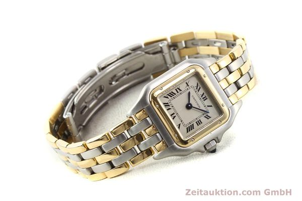 Used luxury watch Cartier Panthere steel / gold quartz  | 140789 03
