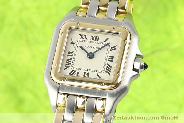 Used luxury watch Cartier Panthere steel / gold quartz  | 140789 04