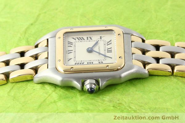 Used luxury watch Cartier Panthere steel / gold quartz  | 140789 05