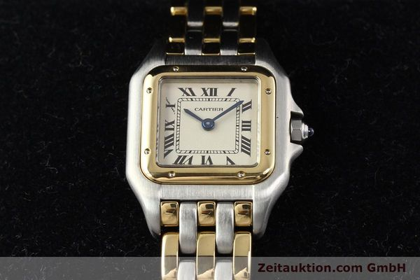 Used luxury watch Cartier Panthere steel / gold quartz  | 140789 07