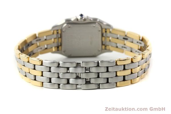 Used luxury watch Cartier Panthere steel / gold quartz  | 140789 08