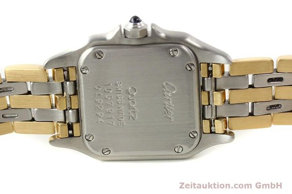 Used luxury watch Cartier Panthere steel / gold quartz  | 140789 09