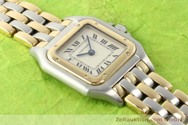 Used luxury watch Cartier Panthere steel / gold quartz  | 140789 12