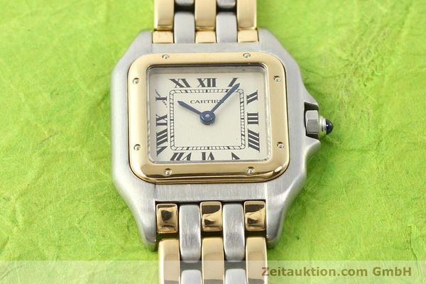 Used luxury watch Cartier Panthere steel / gold quartz  | 140789 13