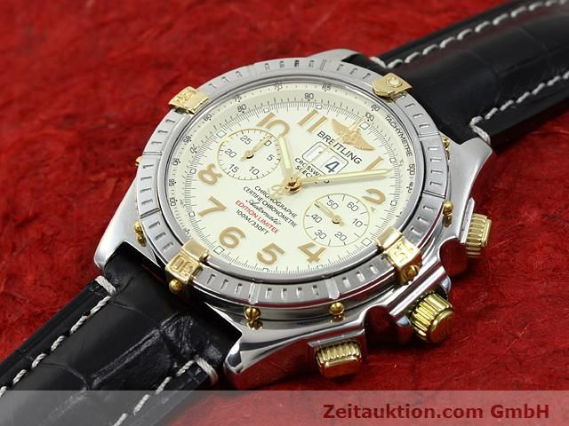 Used luxury watch Breitling Crosswind steel / gold automatic Kal. ETA 2892-2 Ref. B44356  | 140790 01