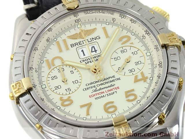 Used luxury watch Breitling Crosswind steel / gold automatic Kal. ETA 2892-2 Ref. B44356  | 140790 02