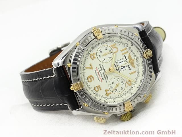 Used luxury watch Breitling Crosswind steel / gold automatic Kal. ETA 2892-2 Ref. B44356  | 140790 03