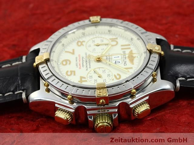 Used luxury watch Breitling Crosswind steel / gold automatic Kal. ETA 2892-2 Ref. B44356  | 140790 05