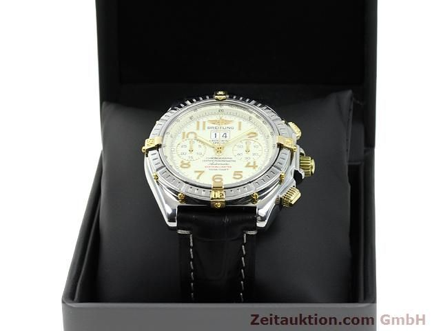 Used luxury watch Breitling Crosswind steel / gold automatic Kal. ETA 2892-2 Ref. B44356  | 140790 07