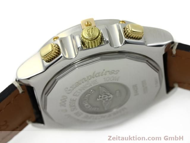 Used luxury watch Breitling Crosswind steel / gold automatic Kal. ETA 2892-2 Ref. B44356  | 140790 11