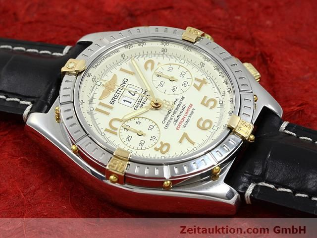 Used luxury watch Breitling Crosswind steel / gold automatic Kal. ETA 2892-2 Ref. B44356  | 140790 14