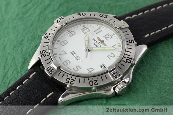 Used luxury watch Breitling Colt steel automatic Kal. ETA 2824-2 Ref. A17035  | 140791 01