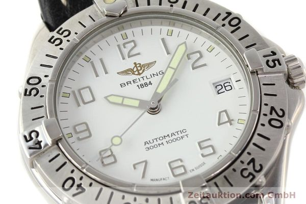 Used luxury watch Breitling Colt steel automatic Kal. ETA 2824-2 Ref. A17035  | 140791 02