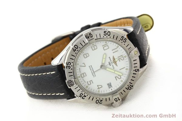 Used luxury watch Breitling Colt steel automatic Kal. ETA 2824-2 Ref. A17035  | 140791 03
