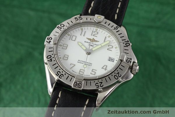 Used luxury watch Breitling Colt steel automatic Kal. ETA 2824-2 Ref. A17035  | 140791 04