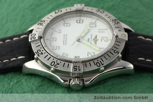 Used luxury watch Breitling Colt steel automatic Kal. ETA 2824-2 Ref. A17035  | 140791 05
