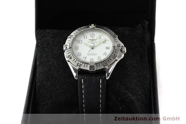 Used luxury watch Breitling Colt steel automatic Kal. ETA 2824-2 Ref. A17035  | 140791 07