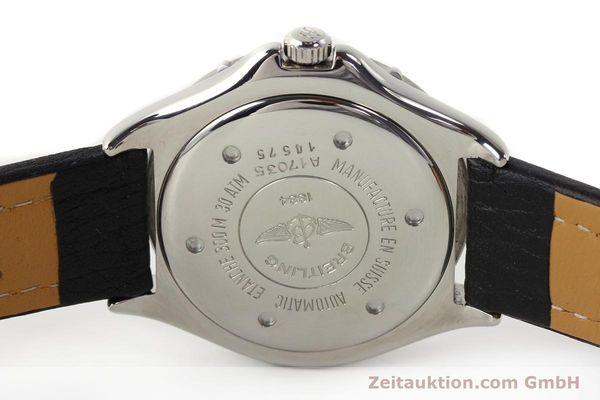 Used luxury watch Breitling Colt steel automatic Kal. ETA 2824-2 Ref. A17035  | 140791 09