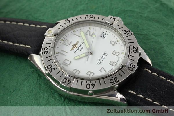 Used luxury watch Breitling Colt steel automatic Kal. ETA 2824-2 Ref. A17035  | 140791 13