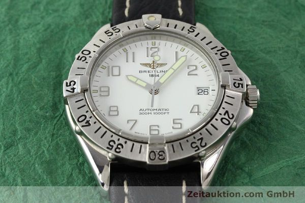 Used luxury watch Breitling Colt steel automatic Kal. ETA 2824-2 Ref. A17035  | 140791 14