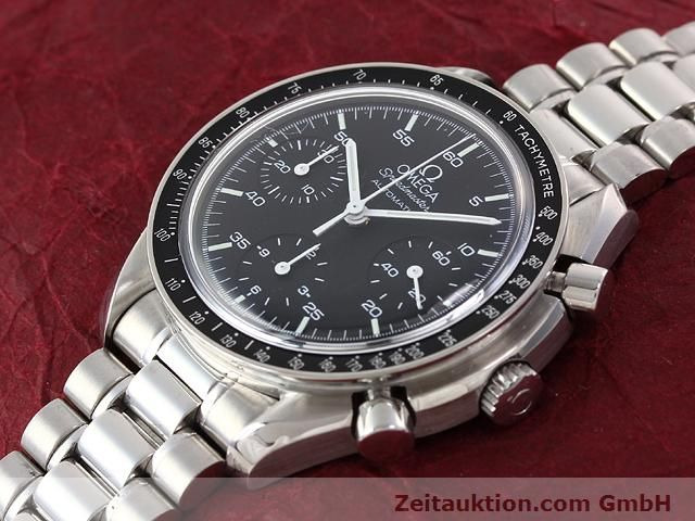 Used luxury watch Omega Speedmaster steel automatic Kal. 3220 ETA 2890A2 Ref. 1750032.1  | 140795 01