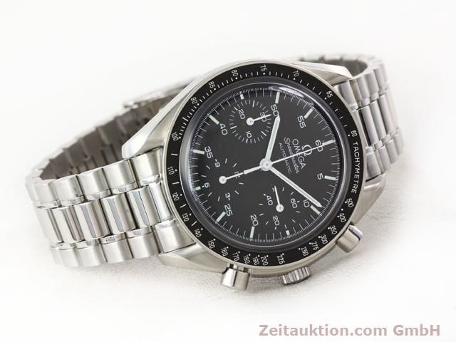 Used luxury watch Omega Speedmaster steel automatic Kal. 3220 ETA 2890A2 Ref. 1750032.1  | 140795 03