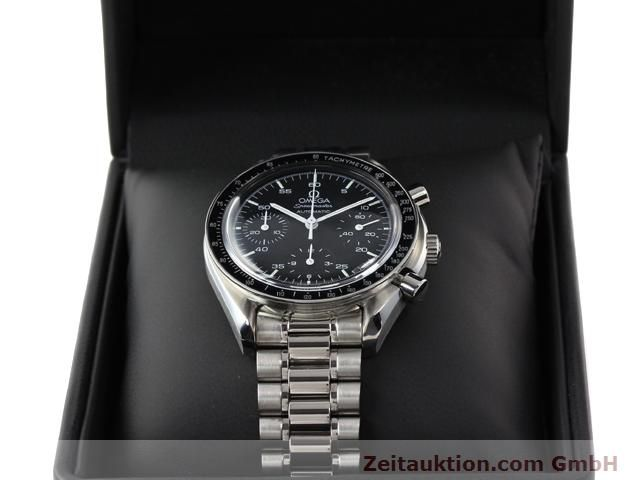 Used luxury watch Omega Speedmaster steel automatic Kal. 3220 ETA 2890A2 Ref. 1750032.1  | 140795 07